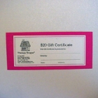 Therapy Shoppe Gift Certificates