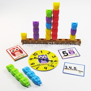 Stacking Counting Owls Play Set