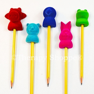 Velvety Soft Animal Pencil Toppers