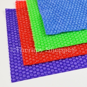 Colored Bubble Wrap Popping Fidget Sheets™
