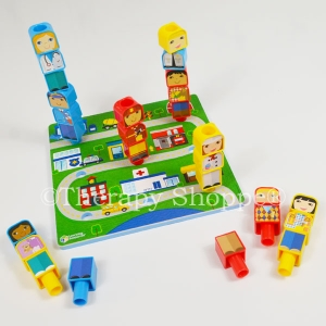 Pegboard Friends Peg Play Set