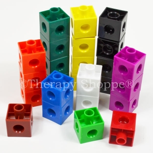 Finger Strengthening Snap Cubes