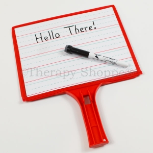 Dry Erase Handwriting Paddle