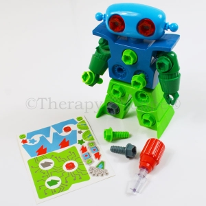Design and Drill Robot Play Set
