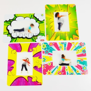 3D Moving Exercise Cards
