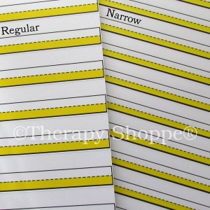 Super Sale Bright Lines Raised Narrow Line Paper