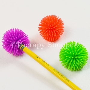 2 Porcupine Pencil Toppers