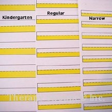 Super Sale Bright Lines Kindergarten Paper