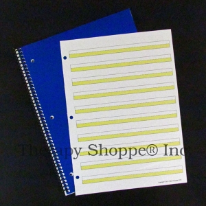 Super Sale Bright Lines Narrow Spiral Notebook