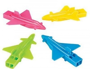 Super Sale Airplane Whistles 6-pk
