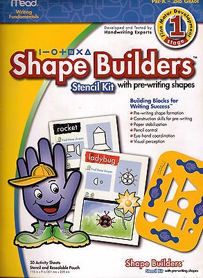 Super Sale Shape Builders Stencil Kit