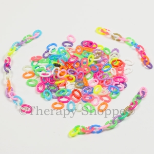 Colorful Connecting Fidget Links