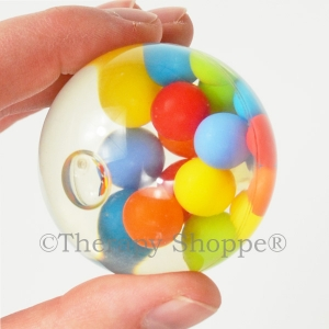 Clear Floating Fidget Sphere
