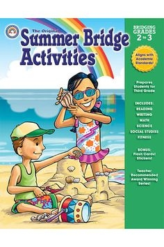 Super Sale Summer Bridge Activities Book Grades 2-3