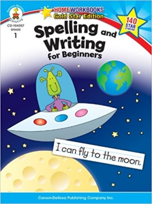Super Sale Spelling and Writing for Beginners Activity Book