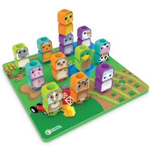 Super Sale Pegboard Friends Farm Pegset