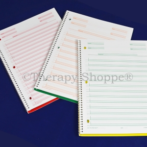 Super Sale Blue Just the Write Size Spiral Notebook