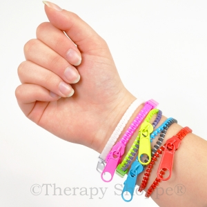 Zipper Fidget Bracelets
