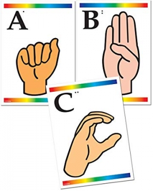 Super Sale Sign Language & Braille Learning Cards Set