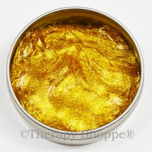 Glistening Gold Thinking Putty