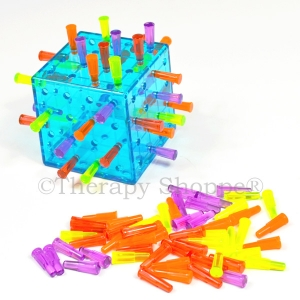 Connect 4 Fine Motor Cube