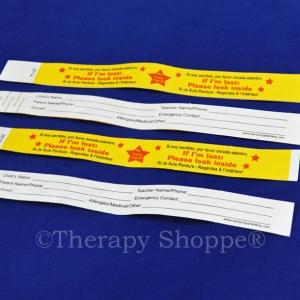 Safety ID Bracelets