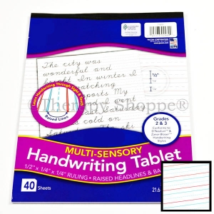 Raised Line 2-3 Handwriting Tablet
