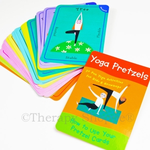 Super Sale Yoga Pretzel Activity Cards