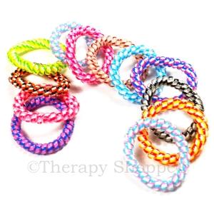 Stretchy Phone Cord Fidget Bracelets