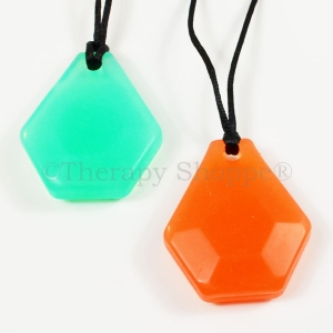 Super Sale Chunky Hexagon Chewy Necklaces