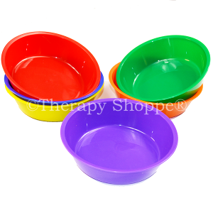 Colorful Counting Stacking Sorting Bowls