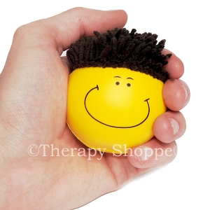 Mop Top Squishy Stress Ball