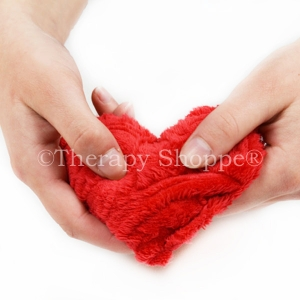 Scented Furry Sensory Heart