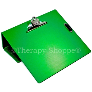 Green Writing Slant Boards (with a pencil holder clip)!