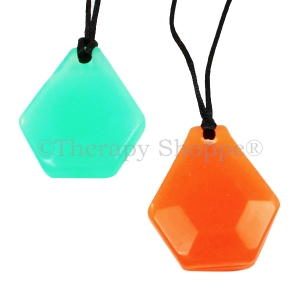 Chunky Hexagon Chewy Necklaces