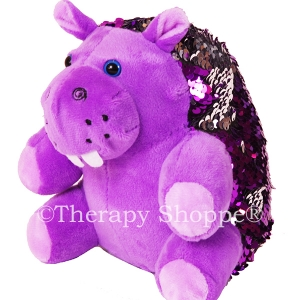Hanna Hippo Weighted Sequin Pet