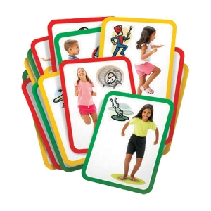 Busy Body Gross Motor Activity Cards