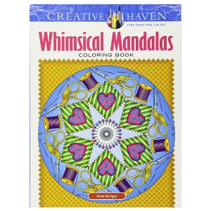 Whimsical Mandalas Coloring Book