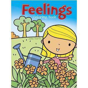 Feelings and Emotions Coloring Book