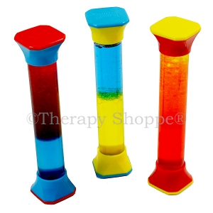 Color Mixing Sensory Tubes
