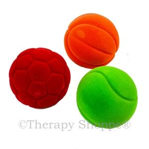 Fuzzi Flocked Sports Balls Set