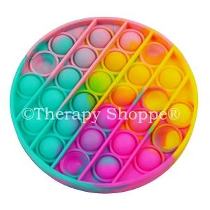 Tie Dye Bubble Fidget Game
