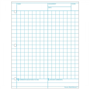Math Notes Specialty Paper