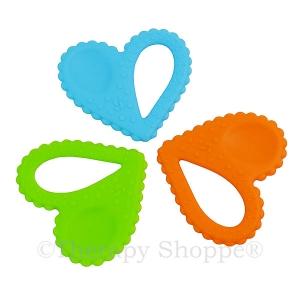 Heart-Shaped Chewy Fidgets