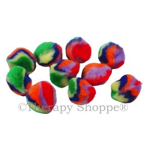 Fuzzy Tie-Dye Fidgets 10-pk