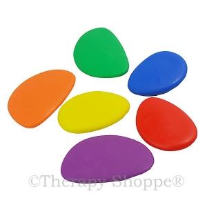 Rubbery Fidget Pebbles