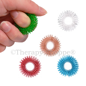 Colored Wire Fidget Rings