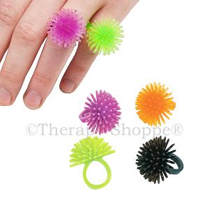 Spiky Fidget Rings