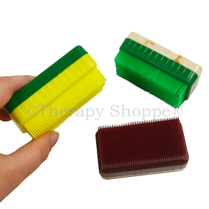 Colored Corn Brushes with a Handle