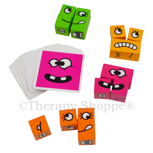Cubeez Silly Faces Game